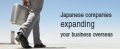 Japanese companies expanding your business overseas